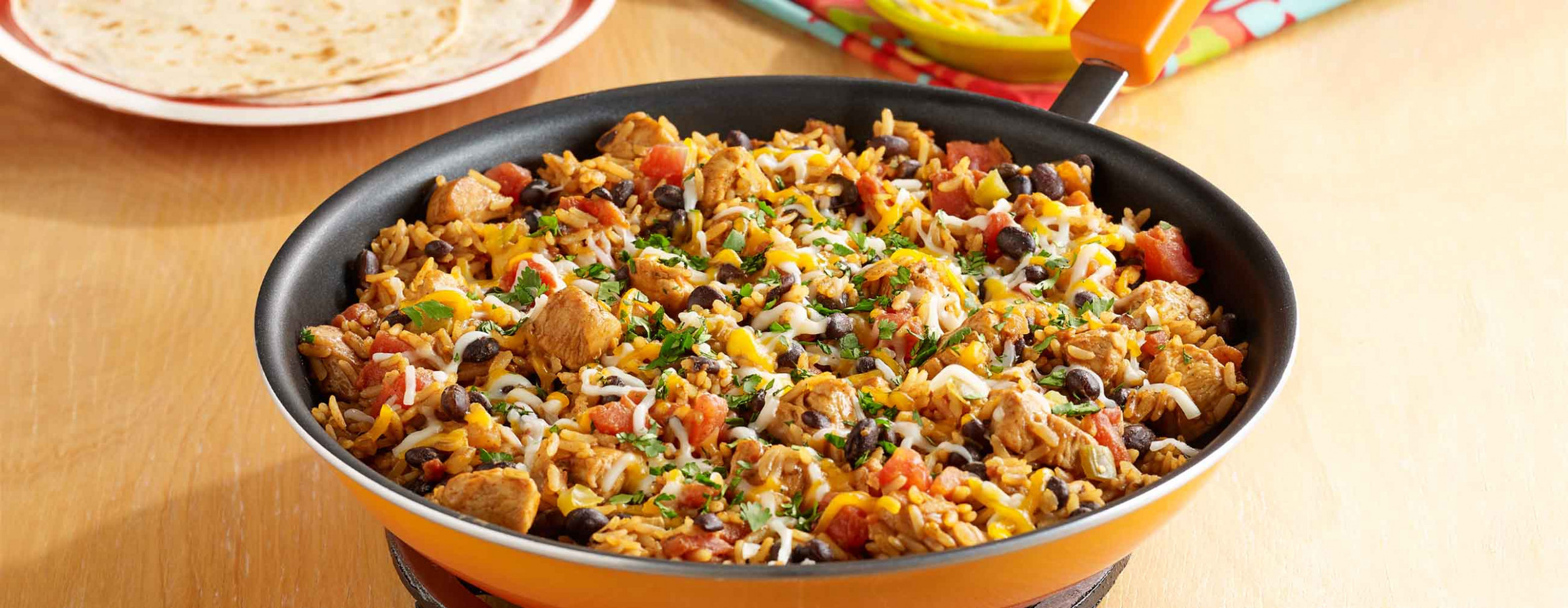 Chicken Burrito Skillet - skillet recipes chicken