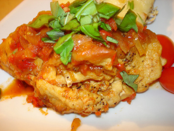Chicken Cacciatore Ala Giada Recipe - Food