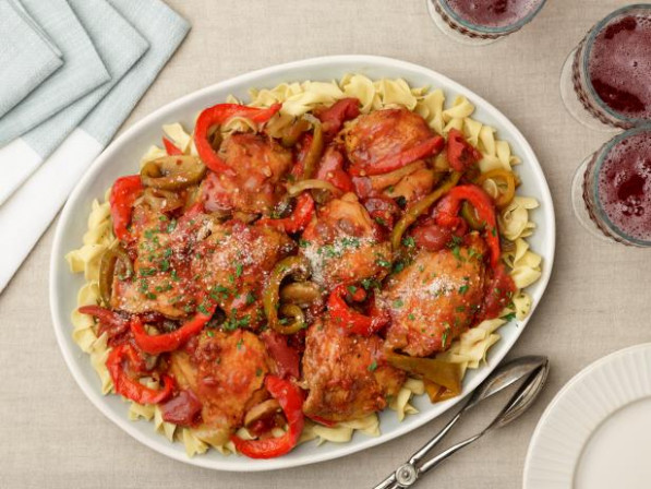 Chicken Cacciatore Recipe | Ree Drummond | Food Network - food network recipes chicken