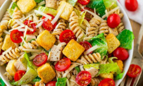 Chicken Caesar Pasta Salad | Healthy Recipe – Healthy Recipes Pasta