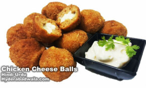 CHICKEN CHEESE BALLS Hashtag On Twitter – Chicken Recipes Video In Hindi