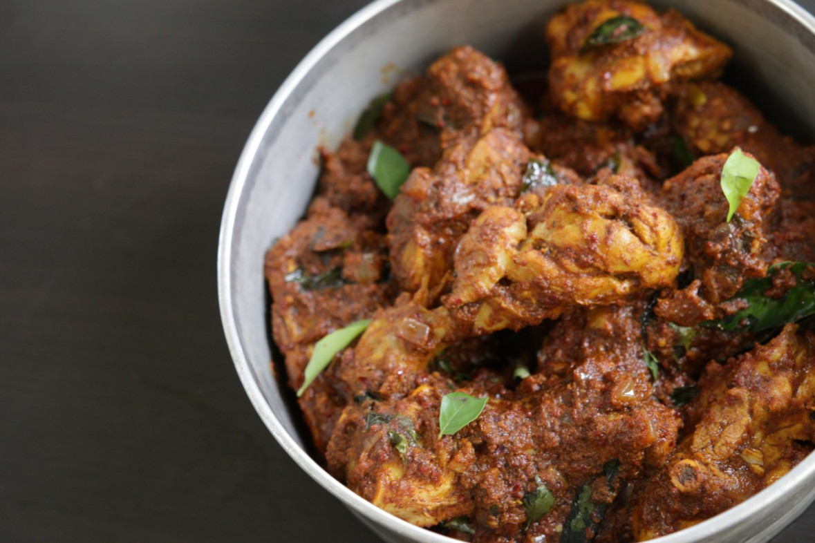 Chicken Chettinad - chicken recipes in tamil