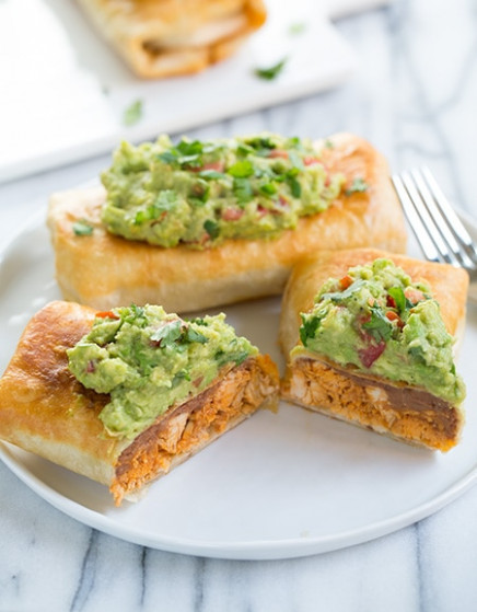 Chicken Chimichangas - Cooking Classy - recipes you can make with rotisserie chicken