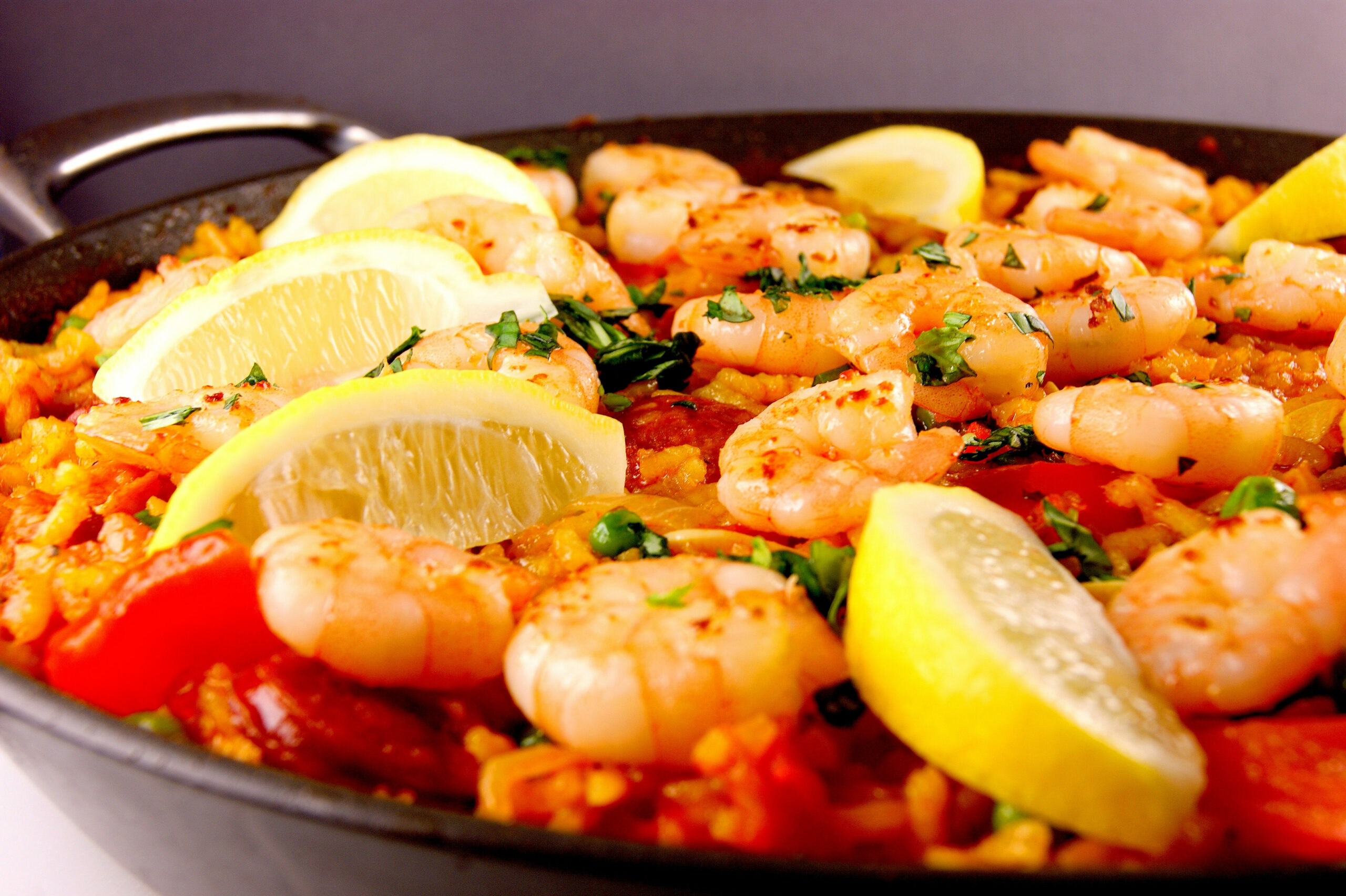 Chicken, Chorizo and King Prawn Paella - paella recipes chicken