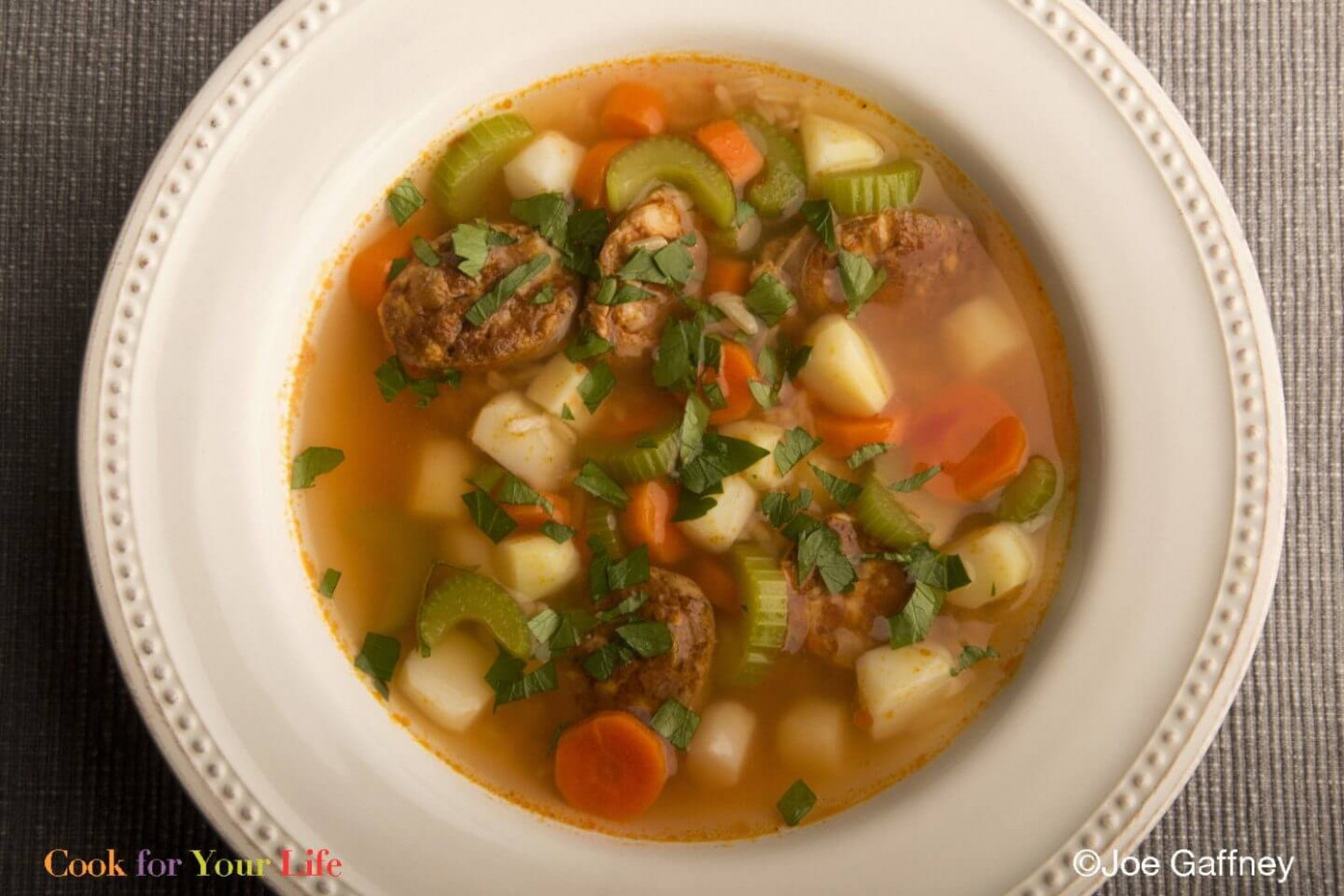 Chicken Chorizo Soup - Cook For Your Life - recipes hispanic food