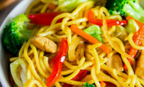 Chicken Chow Mein – Simply Home Cooked – Lo Mein Recipes Chicken