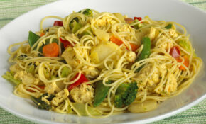 Chicken Curry Skillet With Stir Fry Veggies And Noodles ..