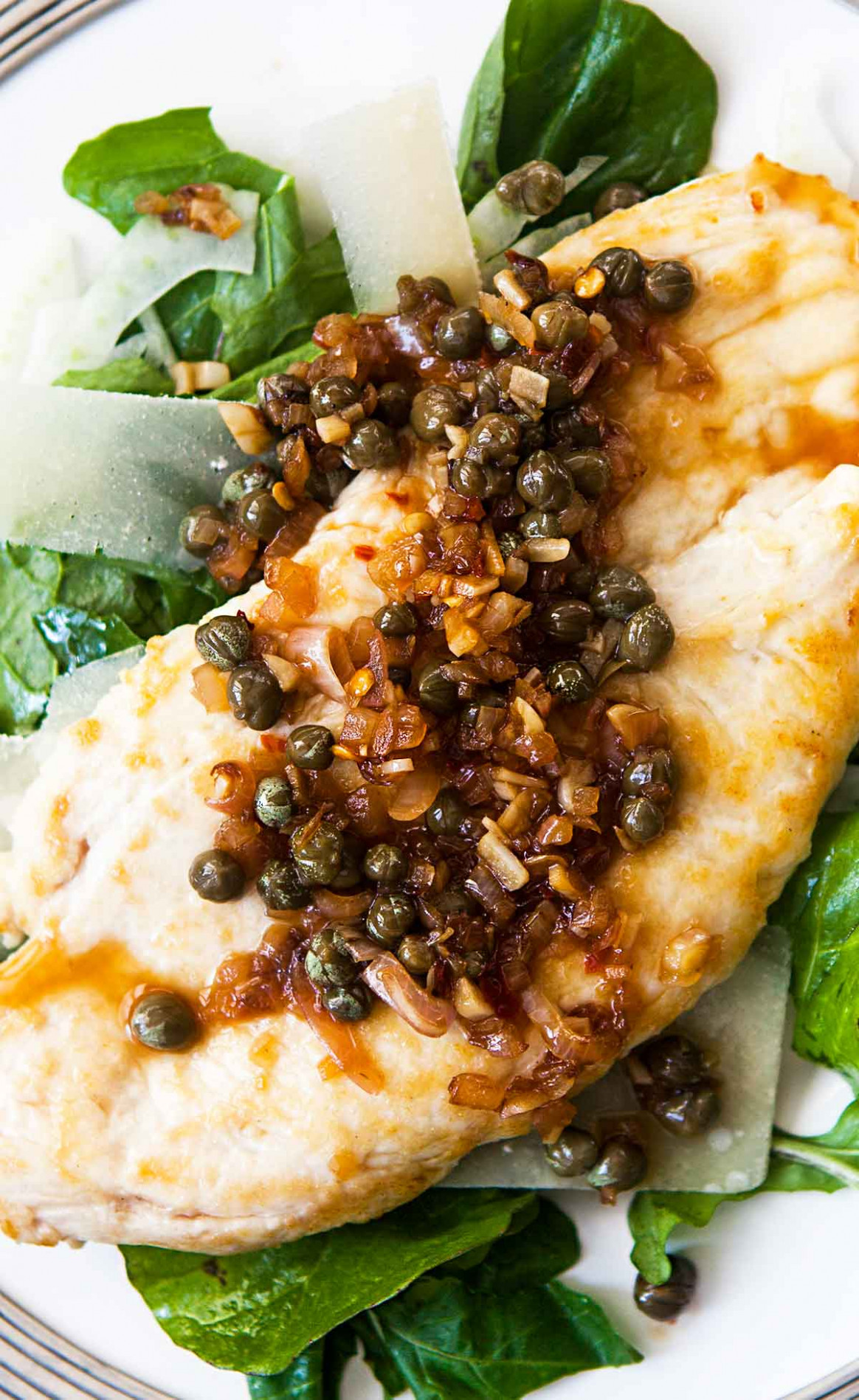 Chicken Cutlets with Caper Sauce Recipe | SimplyRecipes