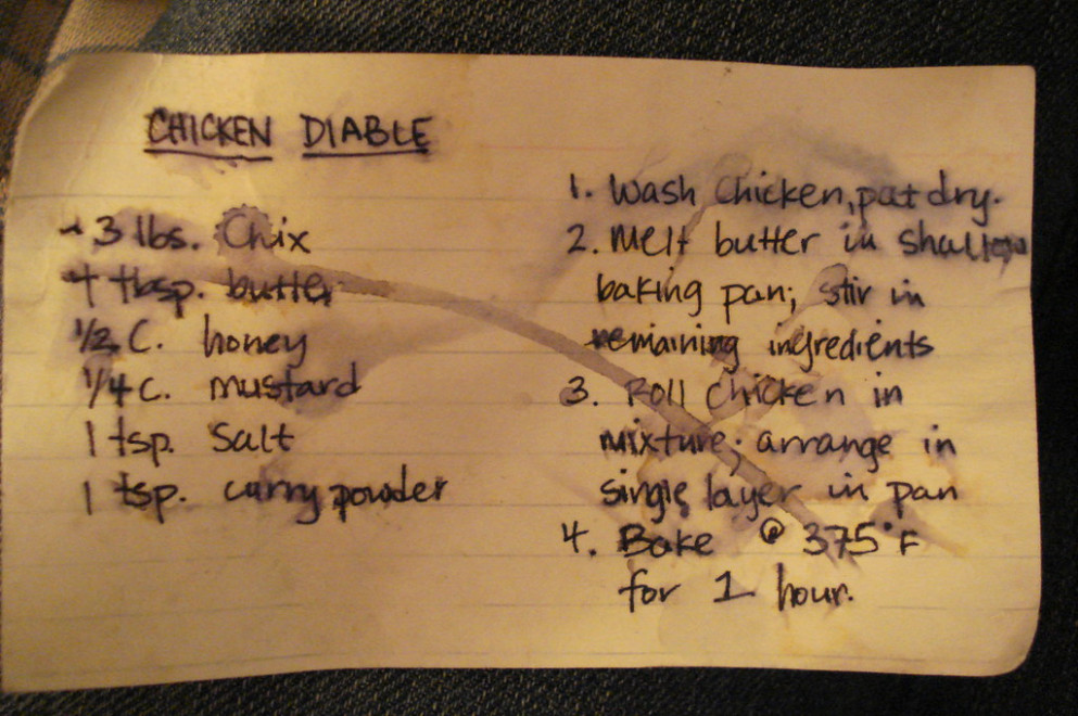 Chicken Diable - recipes quick and easy chicken