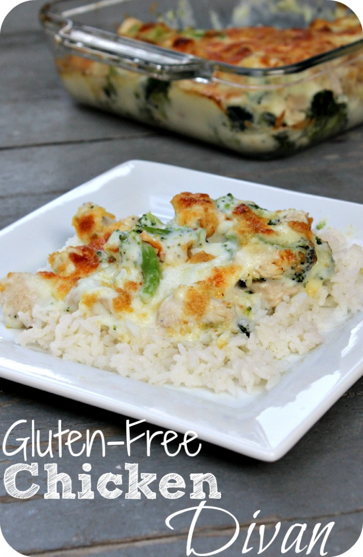 Chicken Divan - Gluten-Free - dinner recipes that are gluten free