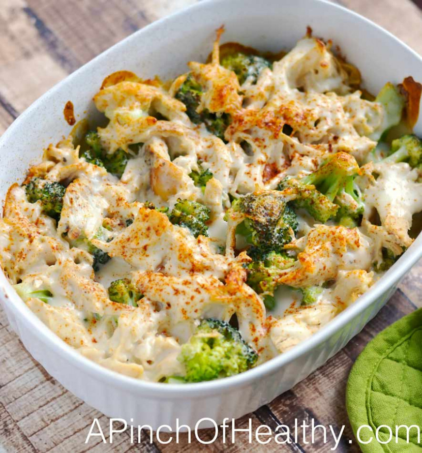 Chicken Divan - healthy recipes dinner