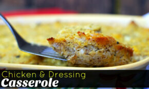Chicken & Dressing Casserole – Aunt Bee's Recipes – Chicken Recipes With Pictures Pdf