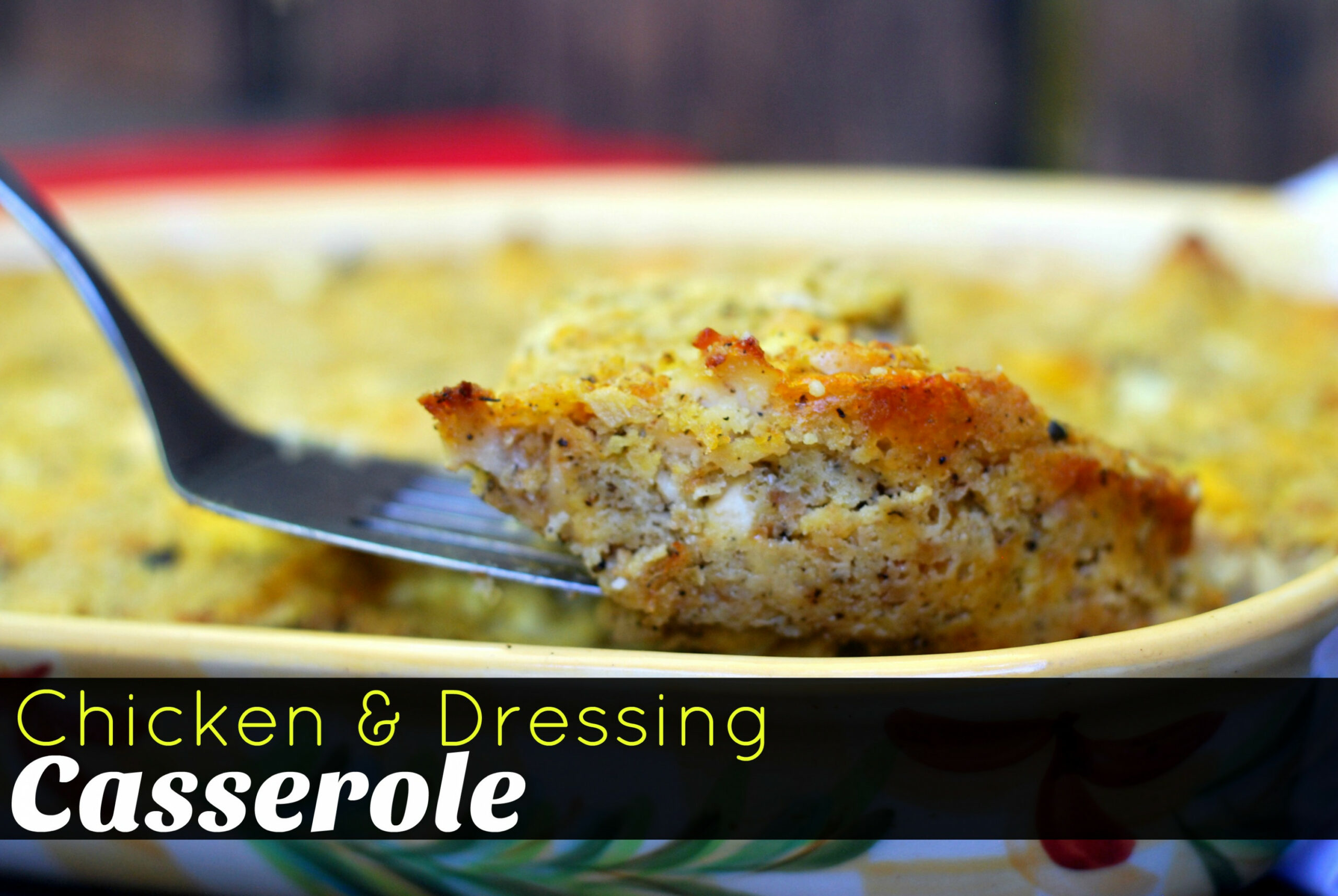 Chicken & Dressing Casserole - Aunt Bee's Recipes - chicken recipes with pictures pdf