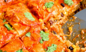 Chicken Enchilada Casserole | Easy Recipes By ItsYummi