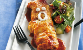 Chicken Enchilada Mummies Recipe – Dinner Recipes Chicken Breast