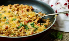 Chicken Enchilada Skillet Dinner: Low Carb Tex Mex ..