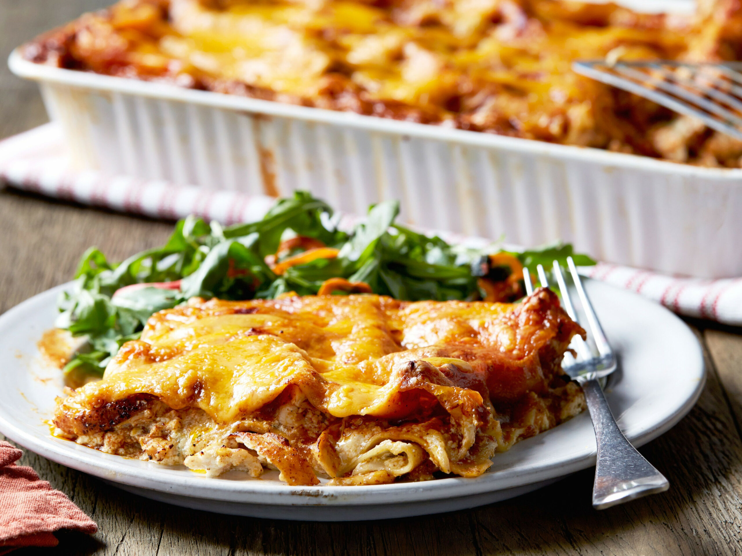 Chicken Enchilasagna - recipes on food network