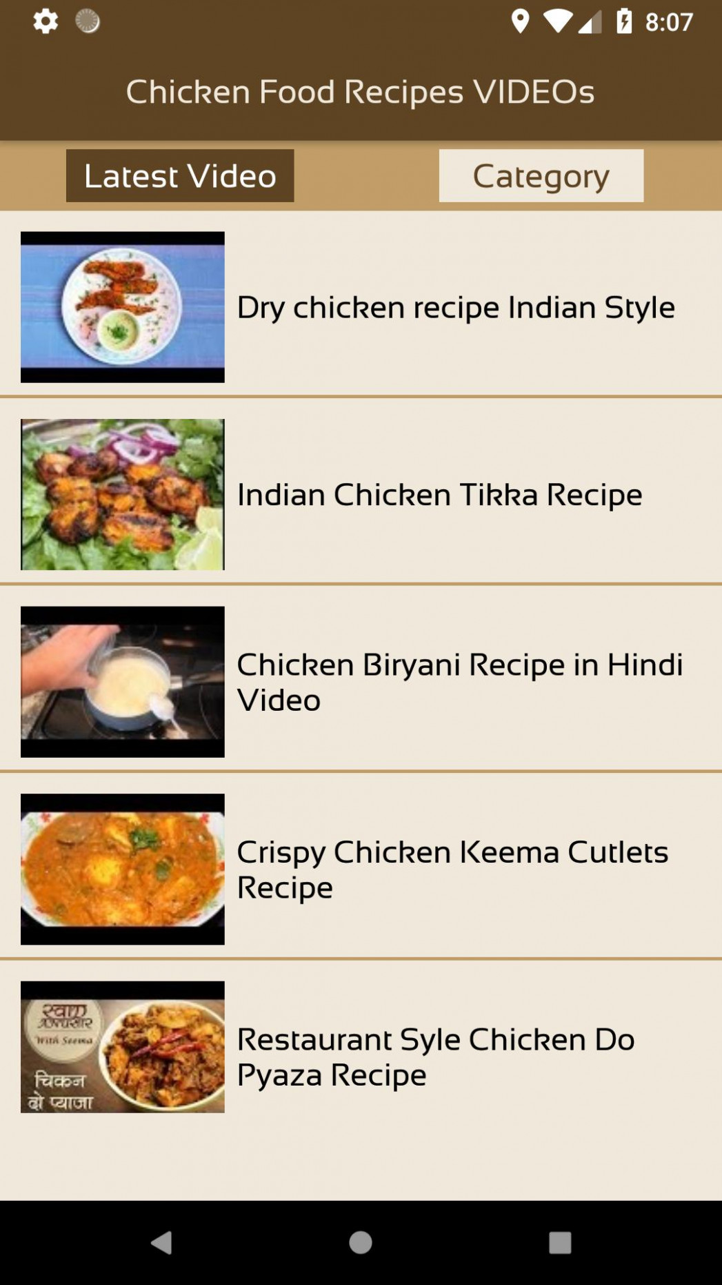 Chicken Food Recipes VIDEOs for Android - APK Download - food recipes video download
