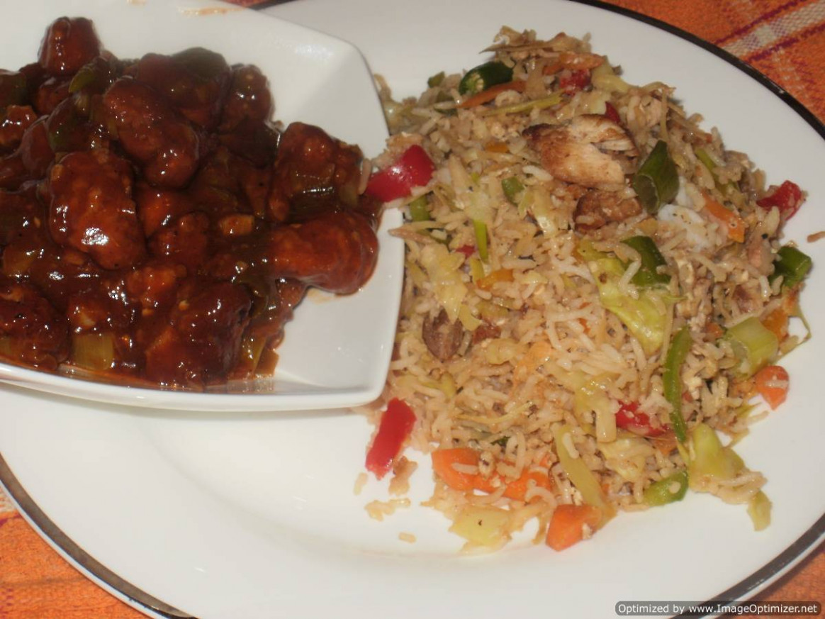 Chicken Fried Rice - Fried Rice Recipes Chicken
