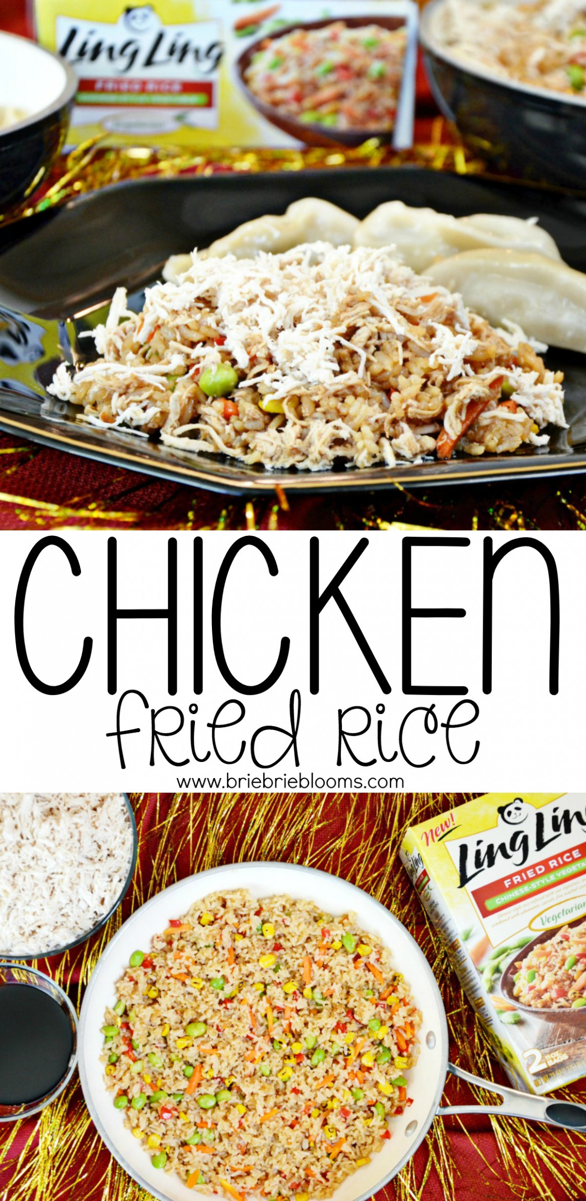 Chicken Fried Rice Recipe | Chinese New Year - Brie Brie Blooms - chicken recipes varieties