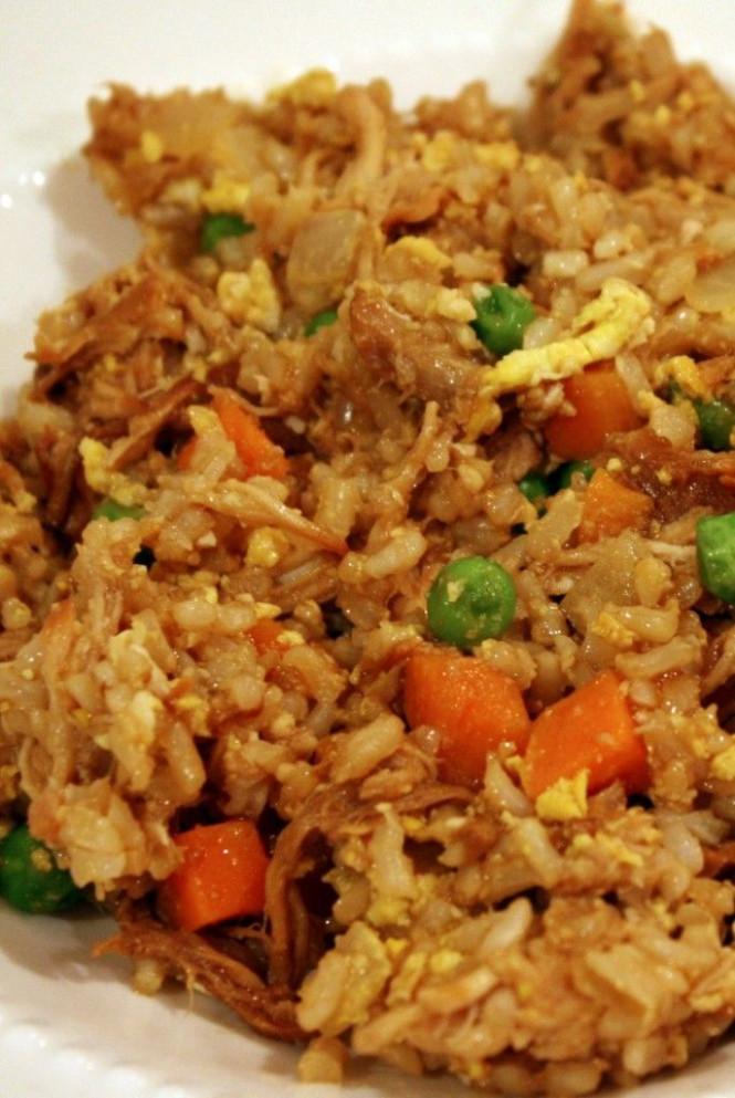 Chicken Fried Rice Recipe — Dishmaps - fried rice recipes chicken