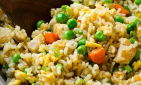 Chicken Fried Rice Recipe – Healthy Chicken And Rice Recipes
