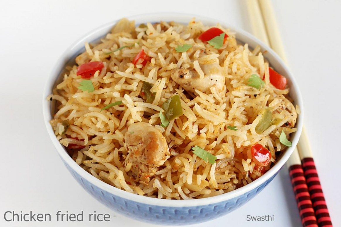 Chicken Fried Rice Recipe | How To Make Chicken Fried Rice ..