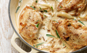 Chicken In Creamy Tarragon Sauce – Kitchen Tales – A Cookery ..