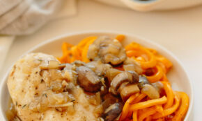 Chicken In Mushroom Sauce With Butternut Squash Noodles – Noodle Recipes Chicken