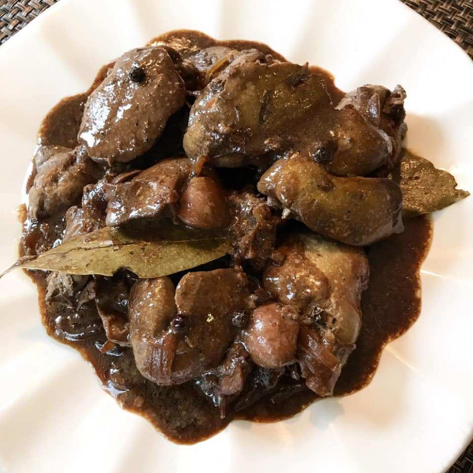 Chicken Liver Adobo – Lola Kusinera - chicken recipes kawaling pinoy