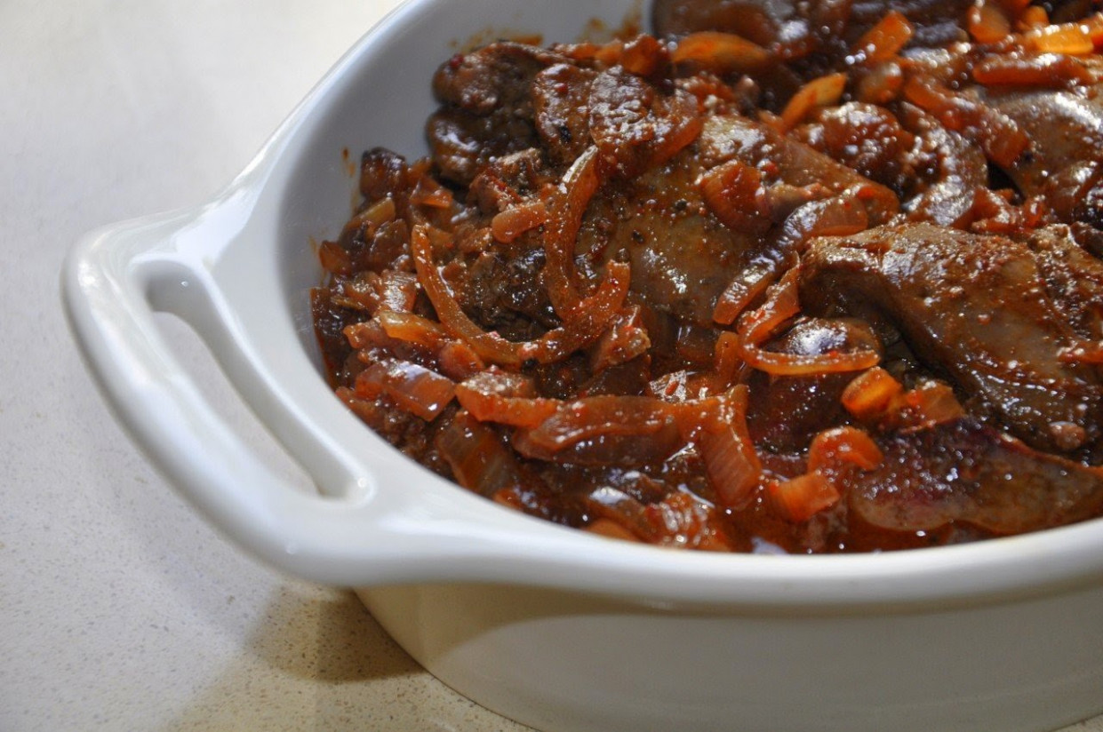 Chicken Livers In Red Wine Recipe ~ Food Network Recipes - chicken recipes red wine