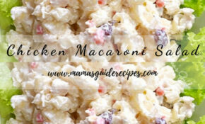 Chicken Macaroni Salad Kawaling Pinoy – Mama's Guide Recipes – Chicken Recipes Kawaling Pinoy
