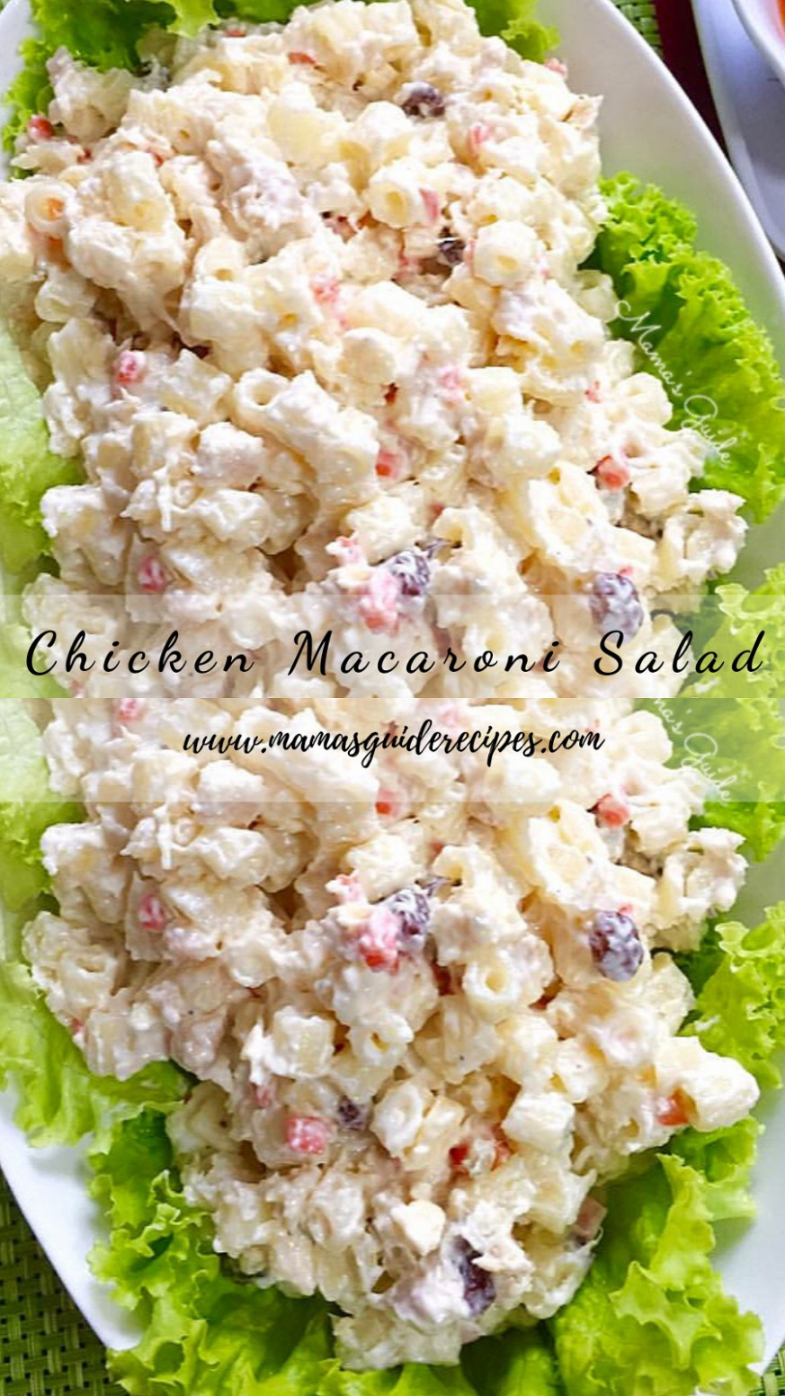 Chicken Macaroni Salad Kawaling Pinoy - Mama's Guide Recipes - Chicken Recipes Kawaling Pinoy