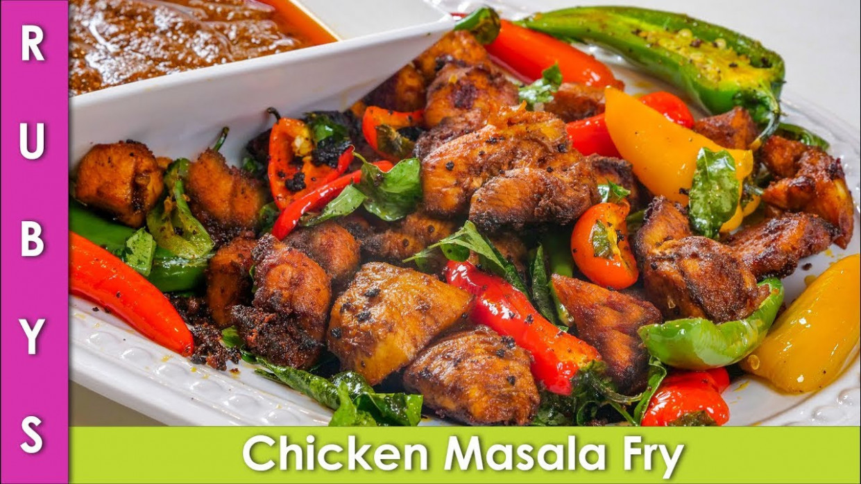 Chicken Masala Fry Recipe Perfect For Iftari And Ramzan In ..