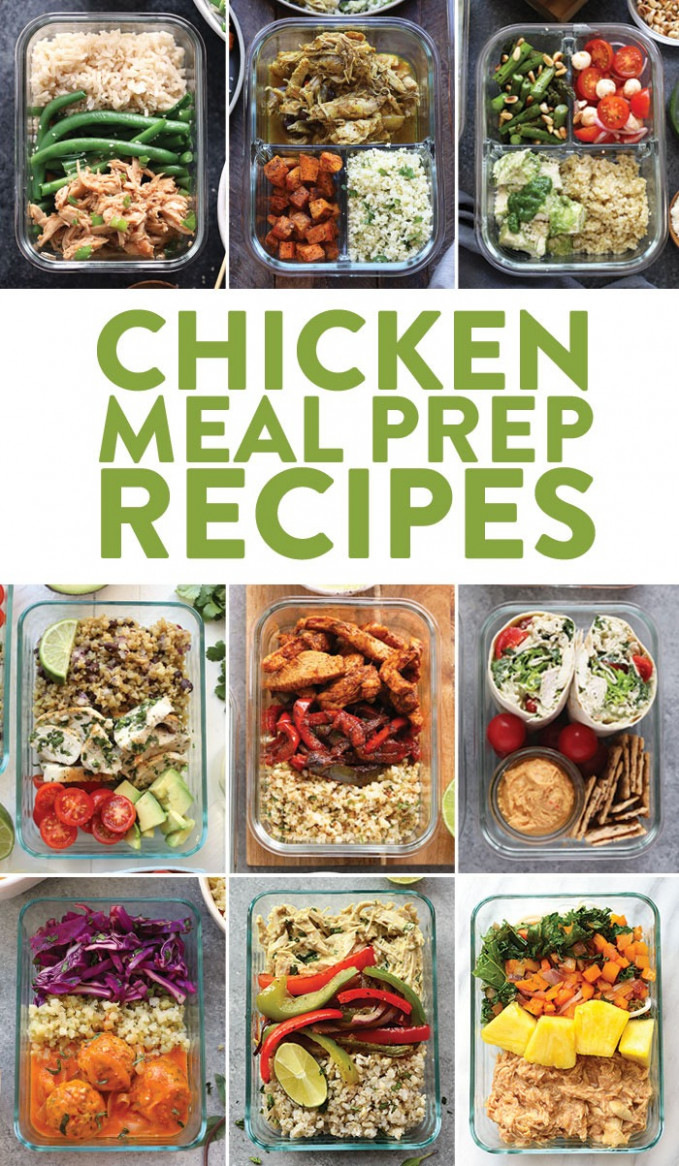 Chicken Meal Prep Recipes - Fit Foodie Finds - dinner recipes meal prep