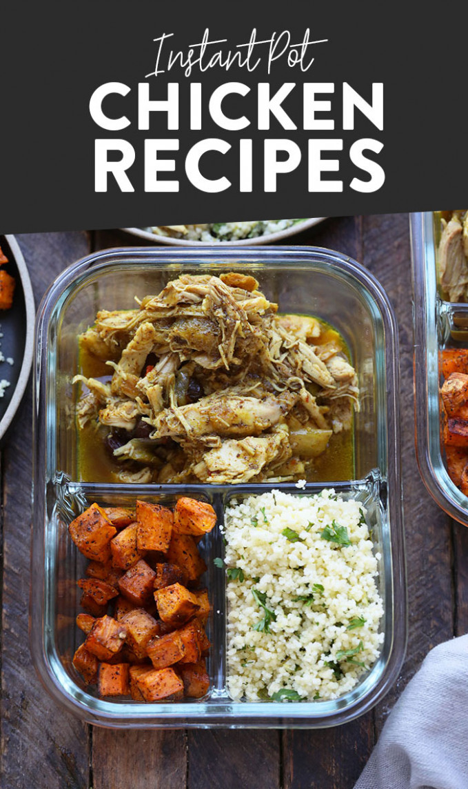 Chicken Meal Prep Recipes - Fit Foodie Finds - recipes chicken breast healthy