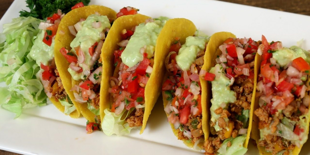 Chicken Mexican Tacos Recipe | Tacos With Chicken Filling ...