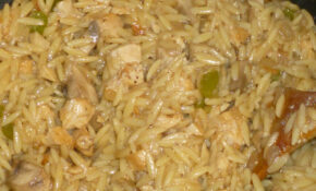 Chicken Mushroom And Orzo Casserole – Recipes That Use Chicken Broth