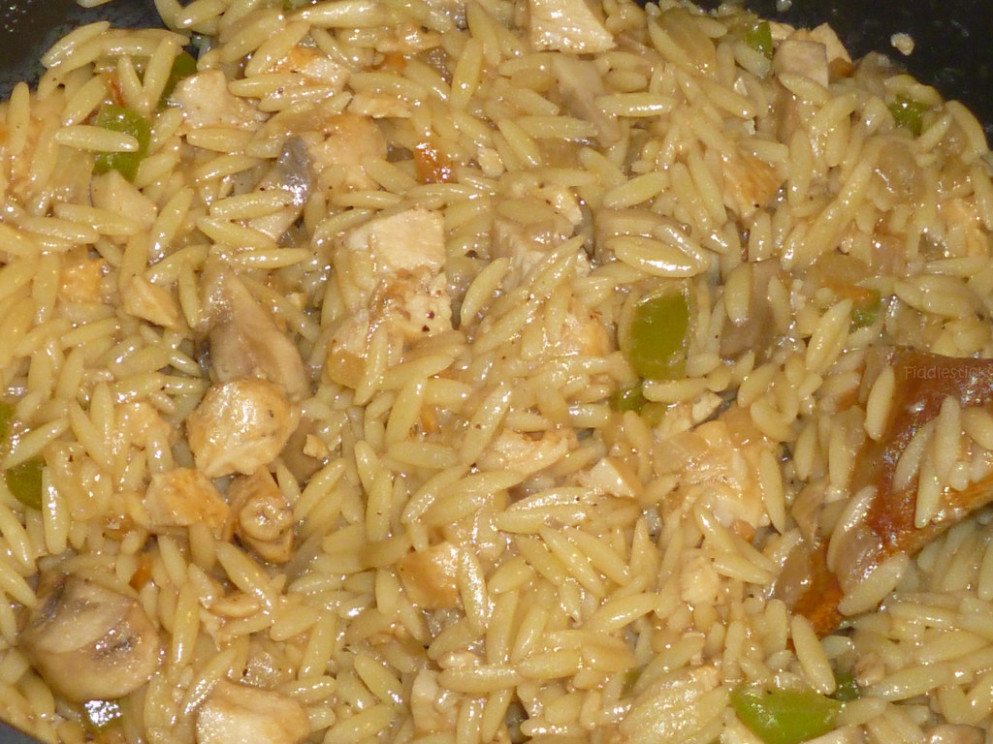 Chicken Mushroom And Orzo Casserole - recipes that use chicken broth