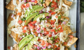 Chicken Nachos With White Queso – Queso Fresco Recipes Chicken