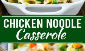 Chicken Noodle Casserole – Chicken Recipes Casserole