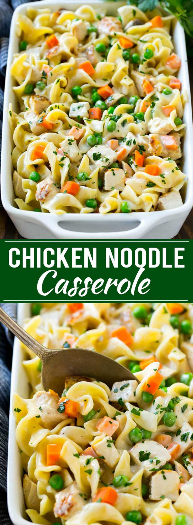 Chicken Noodle Casserole - chicken recipes casserole