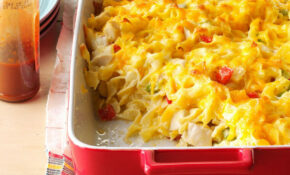 Chicken Noodle Casserole Recipe | Taste Of Home – Chicken Recipes Casserole