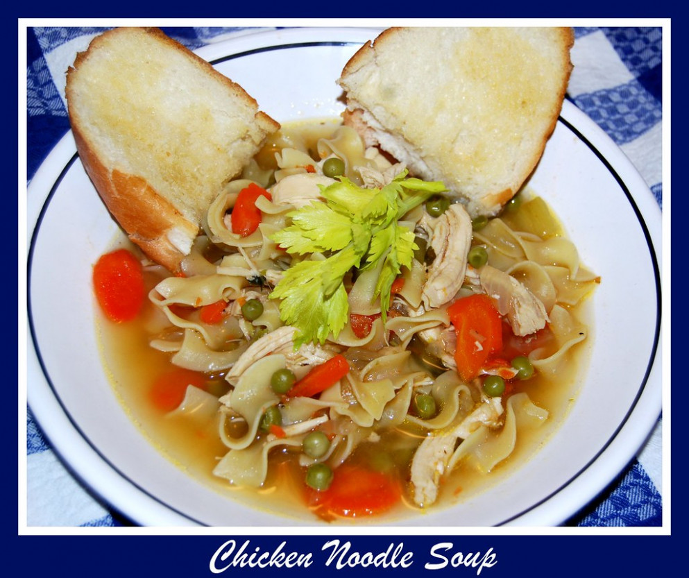 Chicken Noodle Soup - noodle recipes chicken