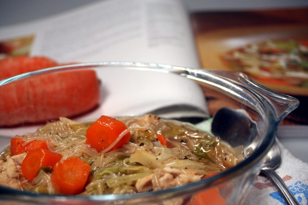 Chicken Noodle Soup - recipes egg noodles and chicken
