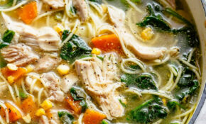 Chicken Noodle Soup – Recipes Using Chicken Broth