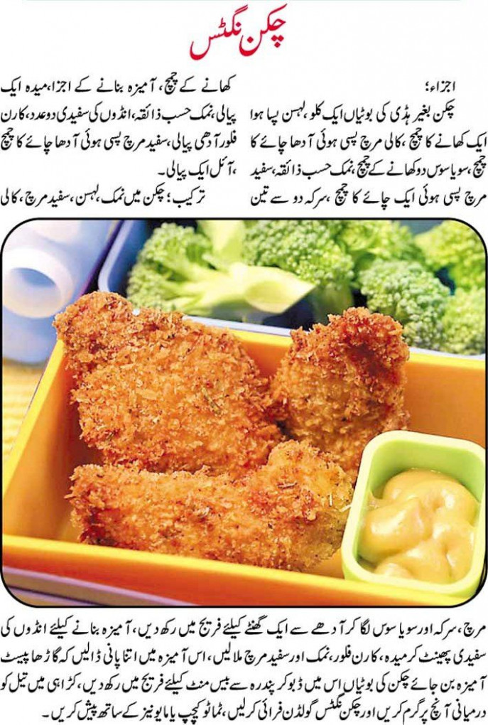 Chicken Nuggets Recipe in Urdu | Pakwan AaLiShan ..