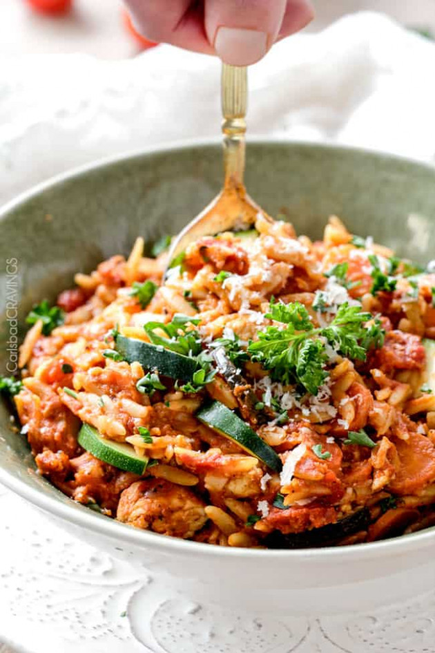Chicken Orzo Pasta Recipes - Orzo Recipes Chicken