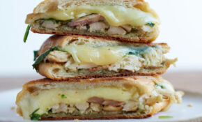 Chicken Panini With Spinach And Pesto – Recipes Pesto Chicken