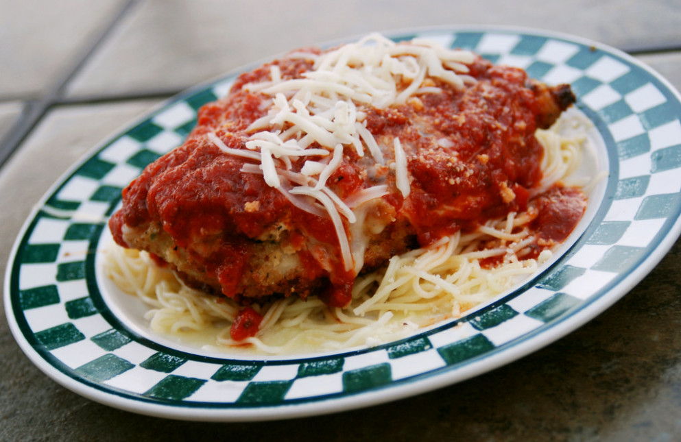 Chicken Parmesan - recipes parmesan chicken